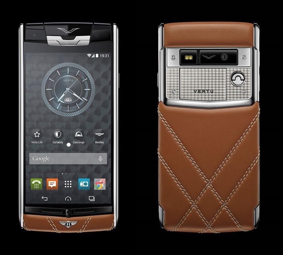 Vertu Specialist Cars Dealership: Vertu For Bentley Smartphone