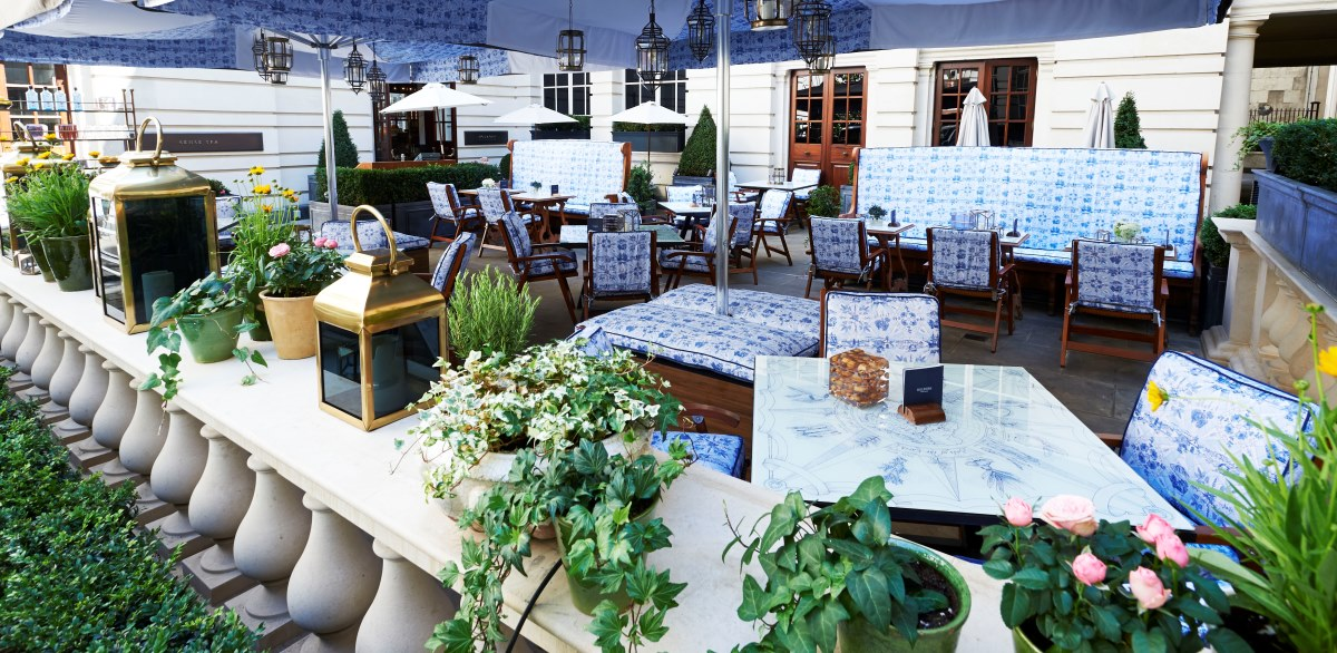 Bombay Terrace at Rosewood Hotel Courtyard Terrace