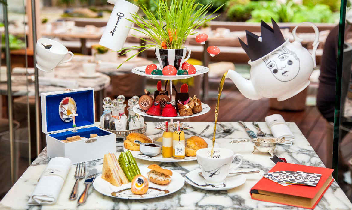 Mad Hatter Afternoon Tea London