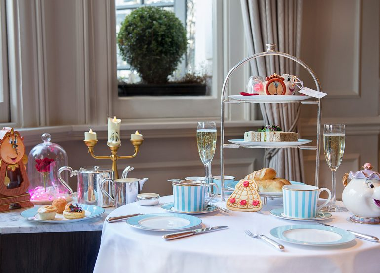 Tale as Old as Time Beauty and The Beast Afternoon Tea London