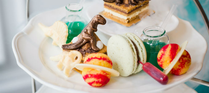 Science afternoon tea at Ampersand Hotel London