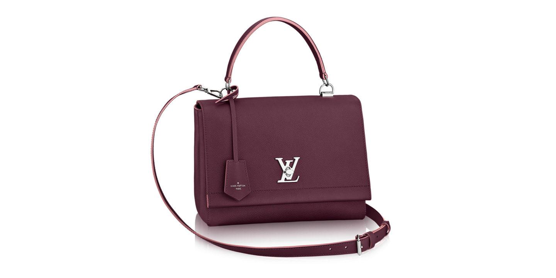 louis vuitton lock me II handbag