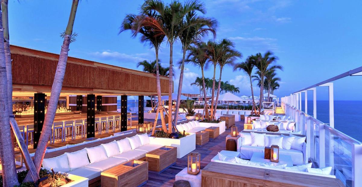1Hotel Rooftop Bar Miami